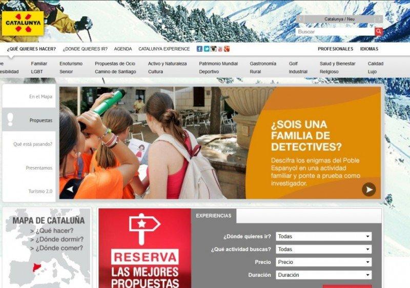 Cataluña crea una web de reservas de viajes combinados y experiencias