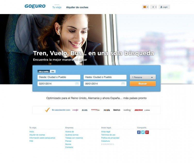 GoEuro se expande a Bélgica, Holanda y Luxemburgo