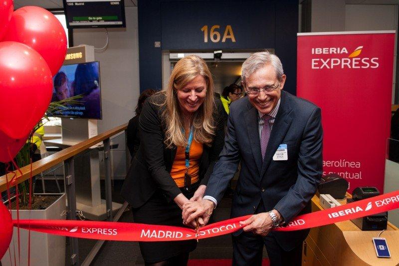 Iberia Express inaugura la ruta Madrid-Estocolmo con un 95% de ocupación