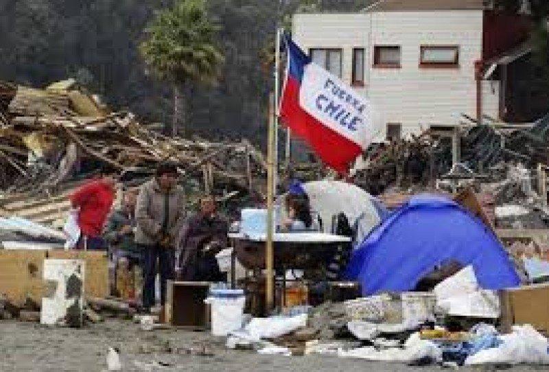 Temblor en Chile en la madrugada del martes.