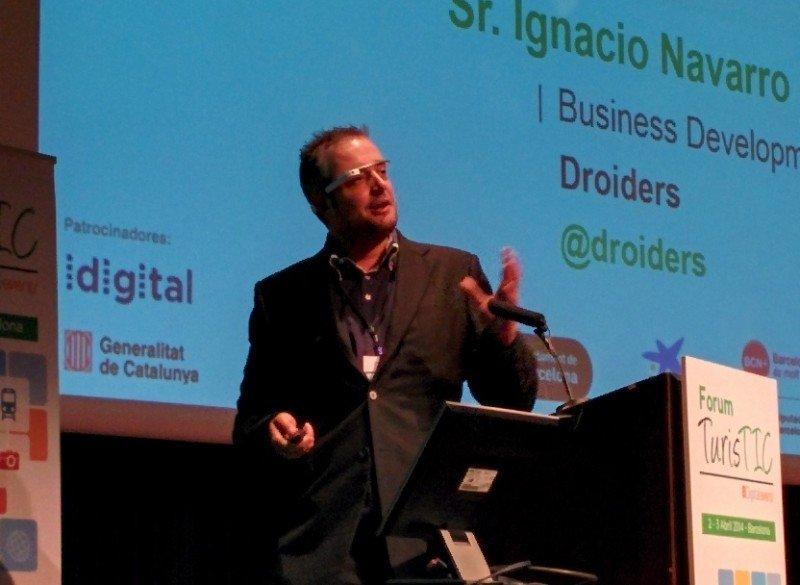 Ignacio Navarro, en el Forum TurisTIC.