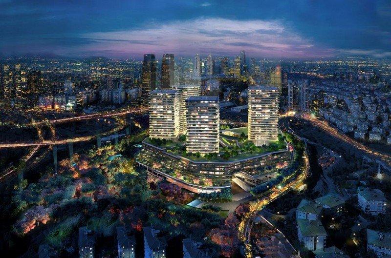 El hotel Raffles Estambul se encuentra en el corazón del Zorlu Center, el nuevo destino en la ciudad.