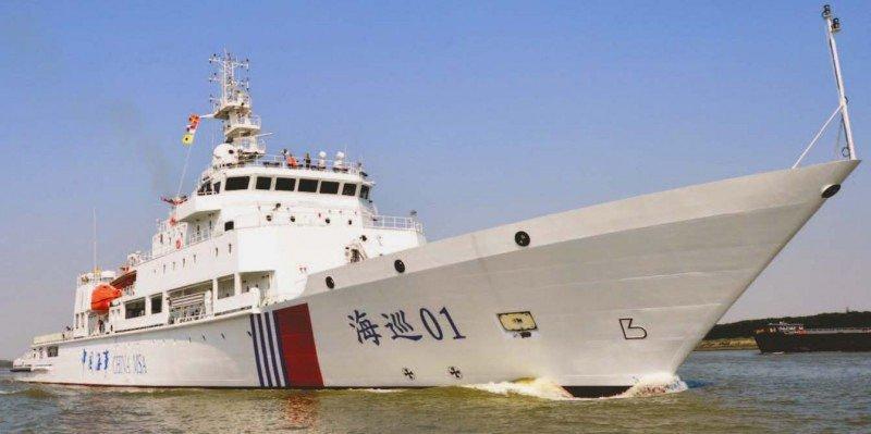 El buque patrullero chino Haixun 01, euqipado con un detector de cajas negras, detectó posibles señales del avión desaparecido.