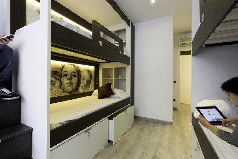 Barcelona estrena un hostel de última generación
