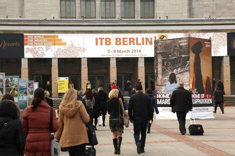 Una imagen de la feria turística ITB de Berlín celebrada el pasado marzo.