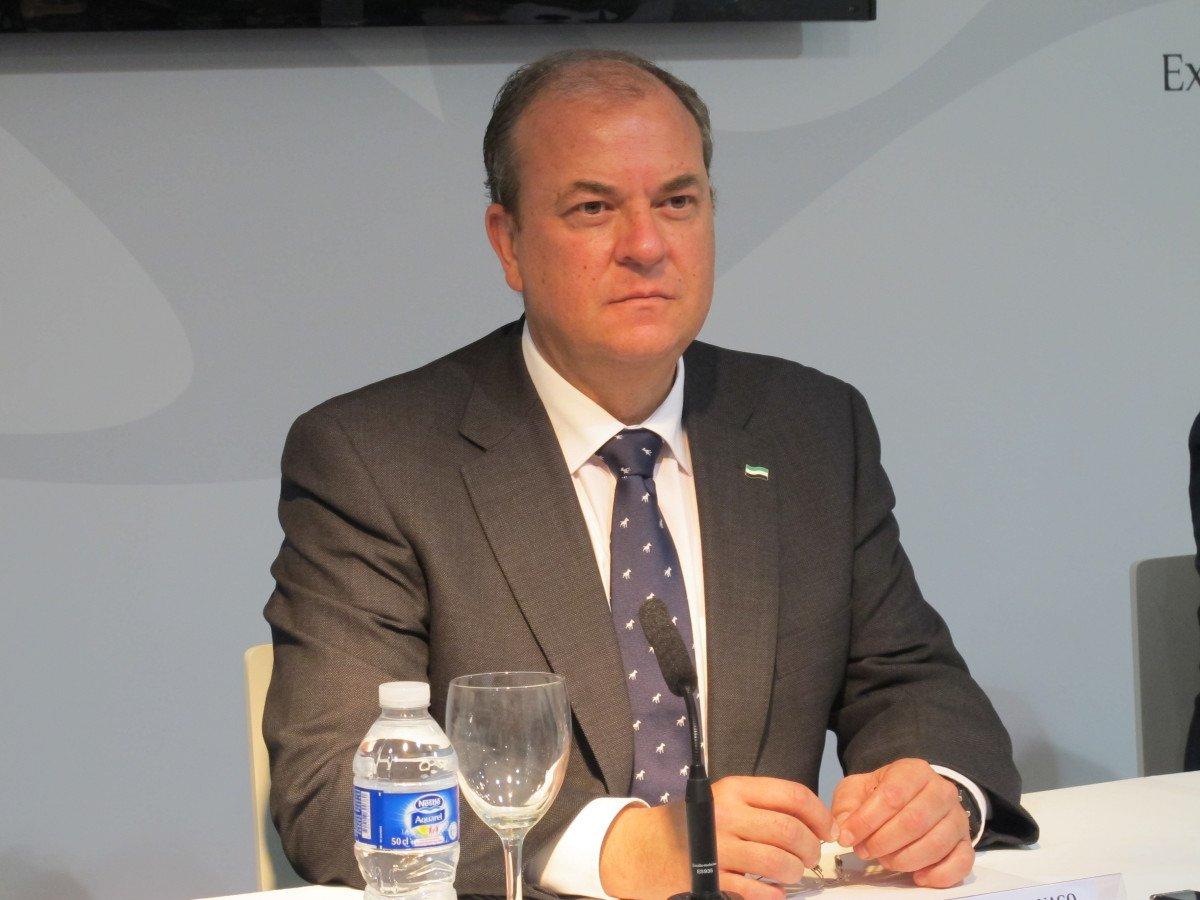 José Antonio Monago, presidente de la Junta de Extremadura.