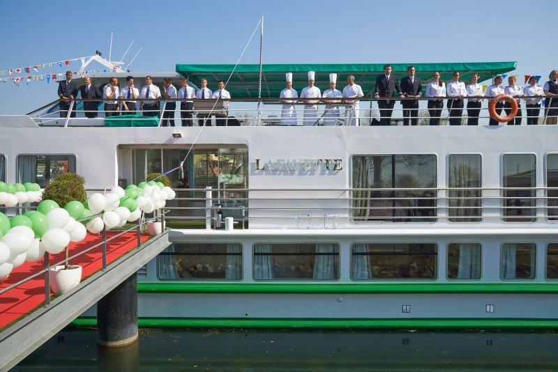 CroisiEurope inaugura tres nuevos barcos