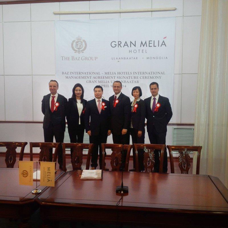 Meliá abrirá su primer hotel en Mongolia en 2017