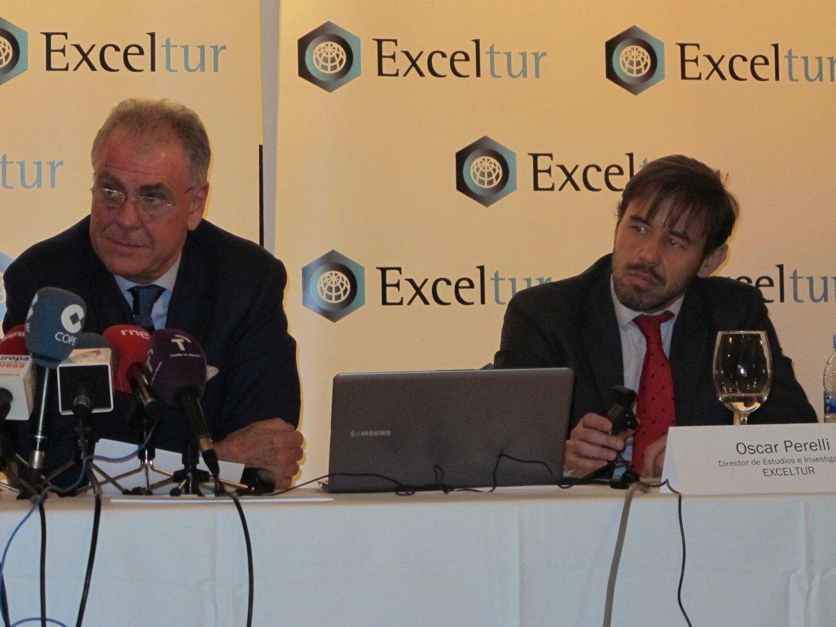 José Luis Zoreda y Oscar Perelli presentan los resultados del primer trimestre.
