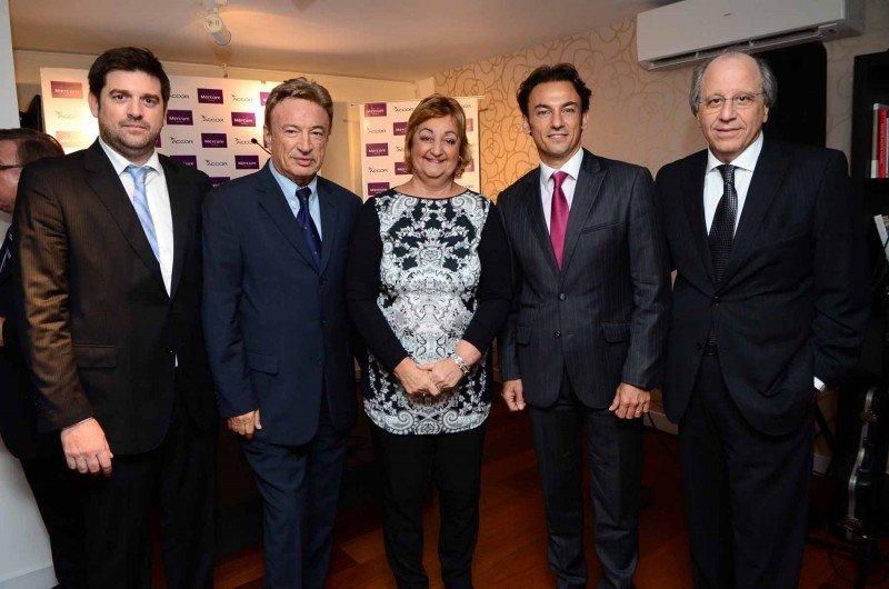 José María Casal, Vito Atijas, ministra Liliam Kechichián, Patrick Mendes y Mauricio Sulimovich.