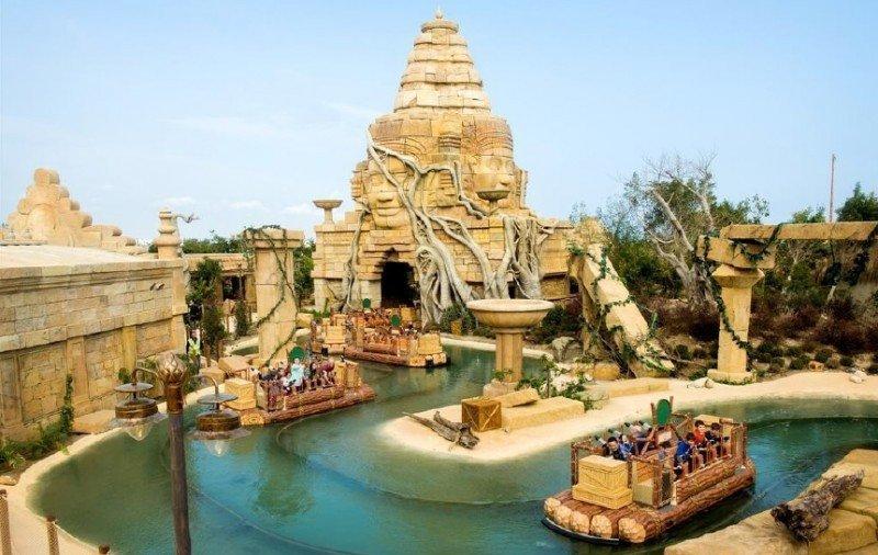 La nueva atracción Angkor de PortAventura.