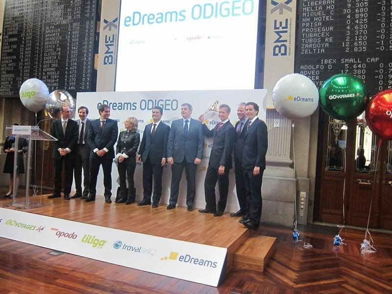 eDreams Odigeo gana un 4,3% en su primera semana en Bolsa