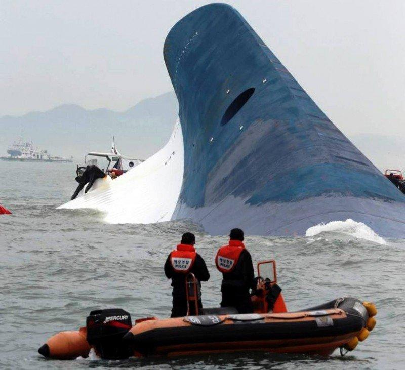 Aumentan a cuatro las víctimas y a 284 los desaparecidos en el naufragio en Corea del Sur