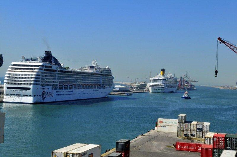 Barcelona recibe un 14% más de cruceristas en el primer trimestre