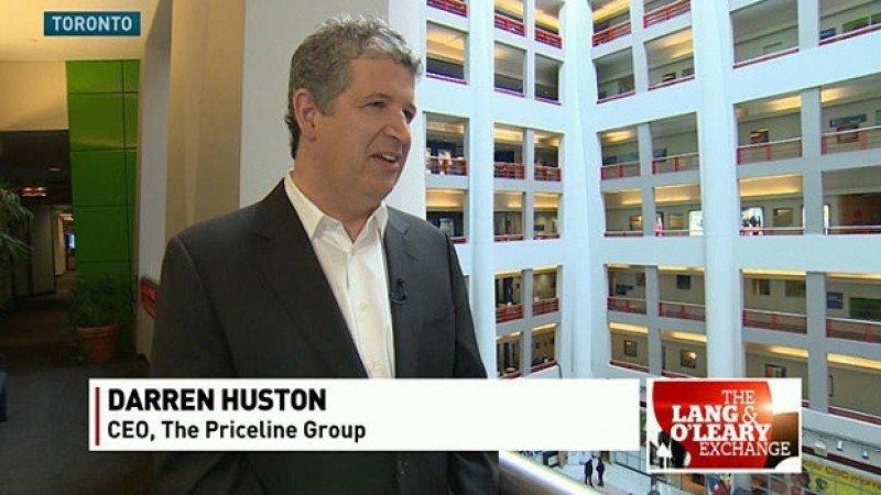 Darren Huston, CEO de Priceline. Foto: CBC.ca.