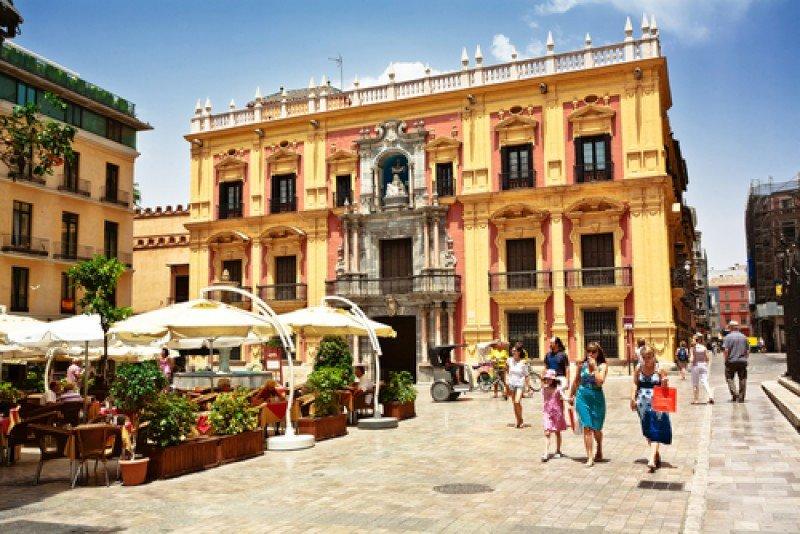 Centro histórico de Málaga. #shu#