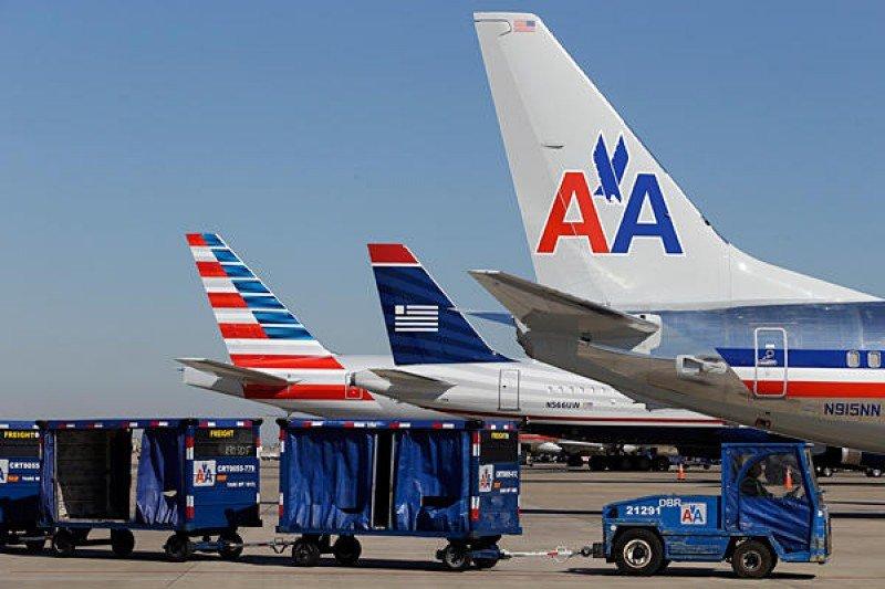 American y US Airways: ganancias récord en el primer trimestre de fusión