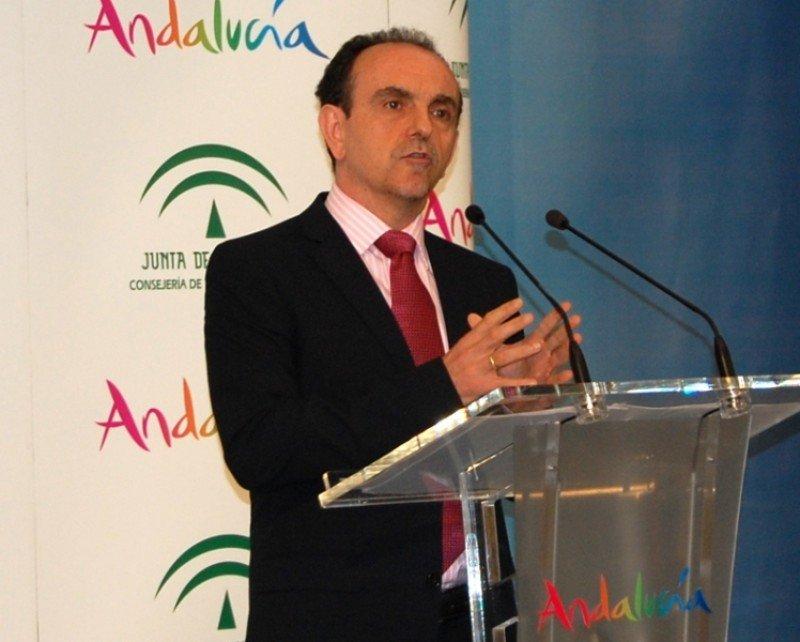 El consejero de Turismo y Comercio de la Junta de Andalucía, Rafael Rodríguez.