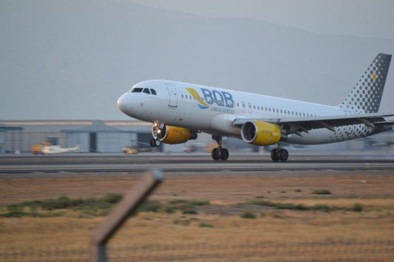 Airbus de BQB fletado a la española Vueling.