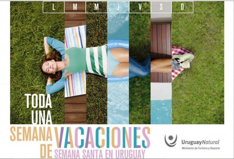 Imagen de campaña gráfica para Semana Santa en medios de Argentina.