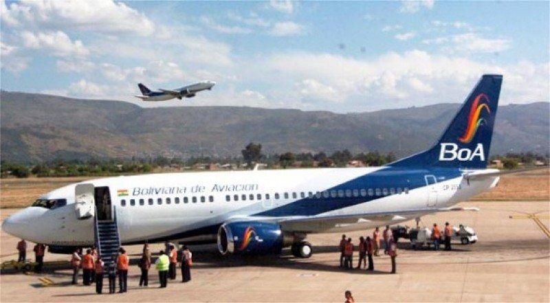 Boeing 737 300 de BOA operará la nueva ruta.