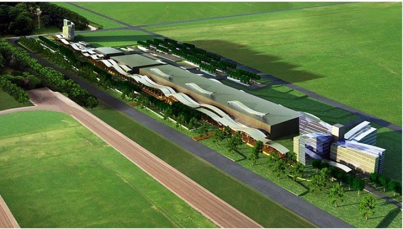Proyecto del arquitecto Carlos Ott para el Centro de Conferencias y Predio Ferial de Punta del Este.