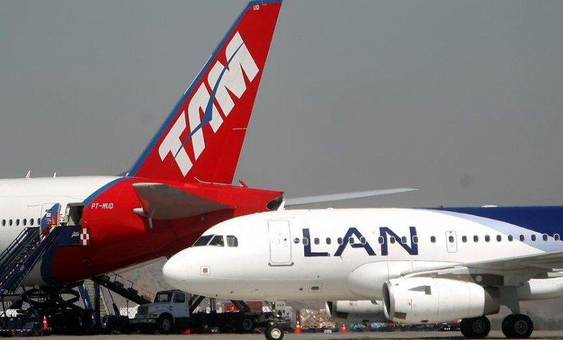 Tráfico de pasajeros de LATAM crece 1,6% en marzo