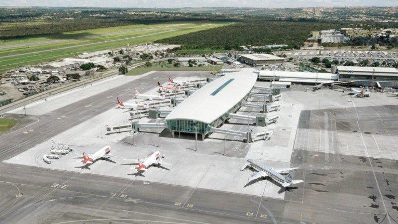 Ampliación del aeropuerto de Brasilia.