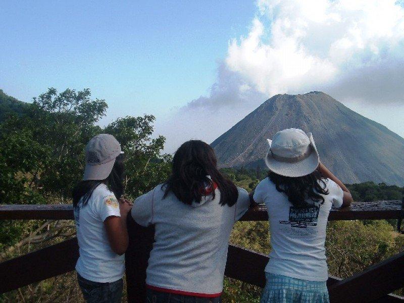 Los volcanes son uno de los atractivos de El Salvador.