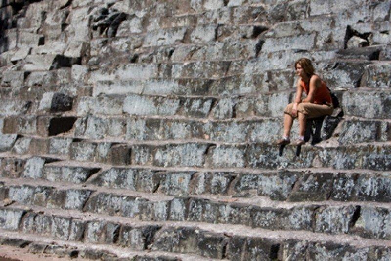 Con un nuevo aeropuerto pretenden facilitar el acceso al sitio arqueológico de Copán.