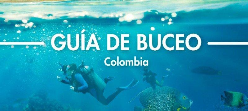 La guía cuenta con 226 páginas e información sobre 16 destinos de buceo de Colombia.