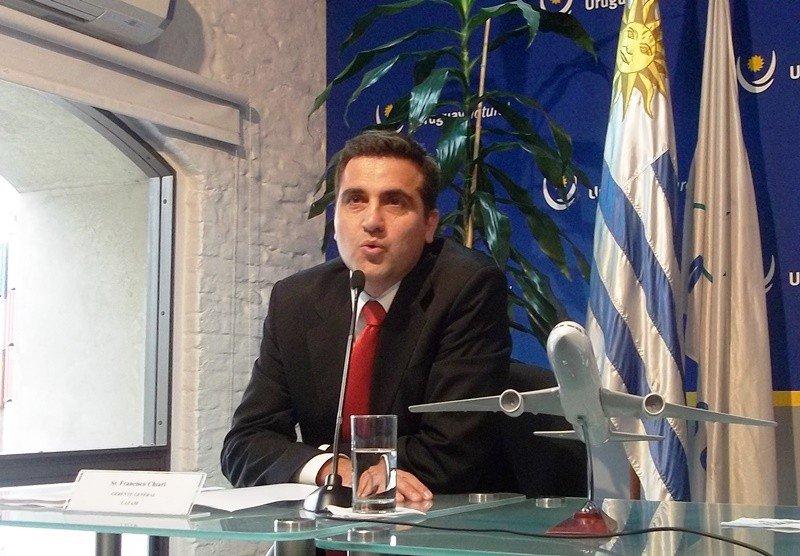 Francisco Chiari, gerente general del grupo LATAM en Uruguay.