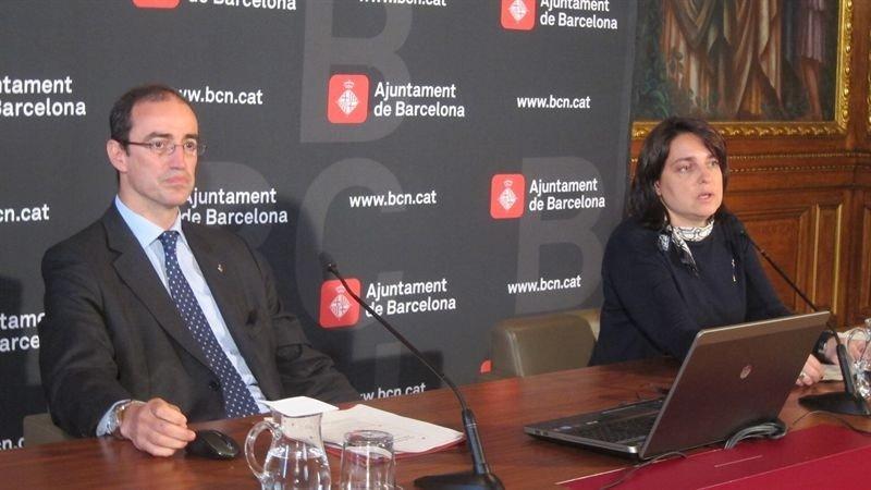 Antoni Vives y Sònia Recasens.
