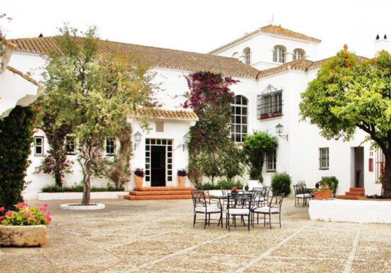 El hotel Cortijo Faín.