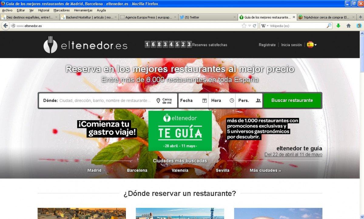El portal eltenedor cuenta con numerosos seguidores en España.