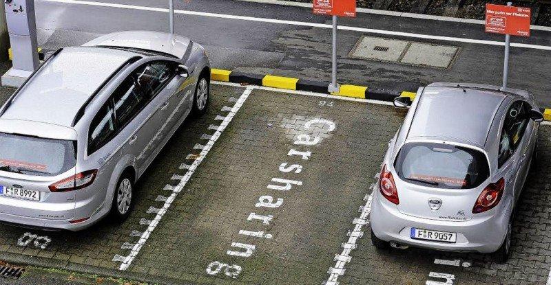 En algunas ciudades, los ayuntamientos han asignado plazas para el carsharing.