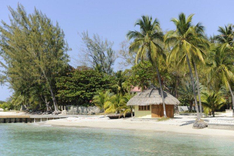 Una playa de Haití. #shu#