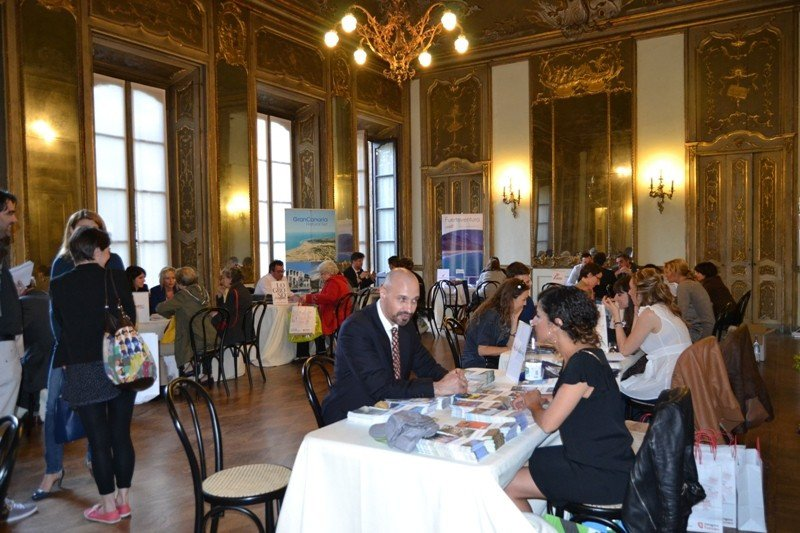 Imagen del workshop organizado por la Oficina Española de Turismo en Milán.