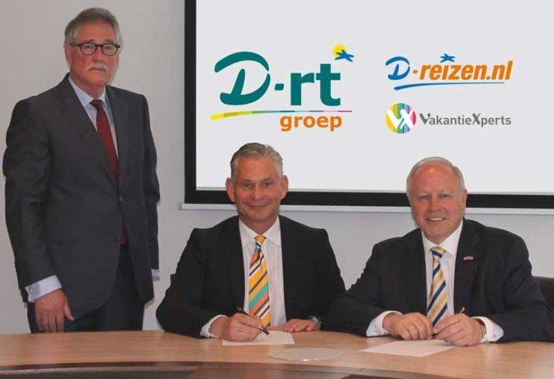 Will van den Hoogen, Wolfgang Altmüller y  Henk van den Broek (de izqu. a dcha.).