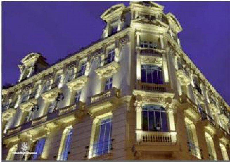 El futuro hotel Urso cuenta con 78 habitaciones, restaurante, gimnasio-spa y 32 plazas de parking.