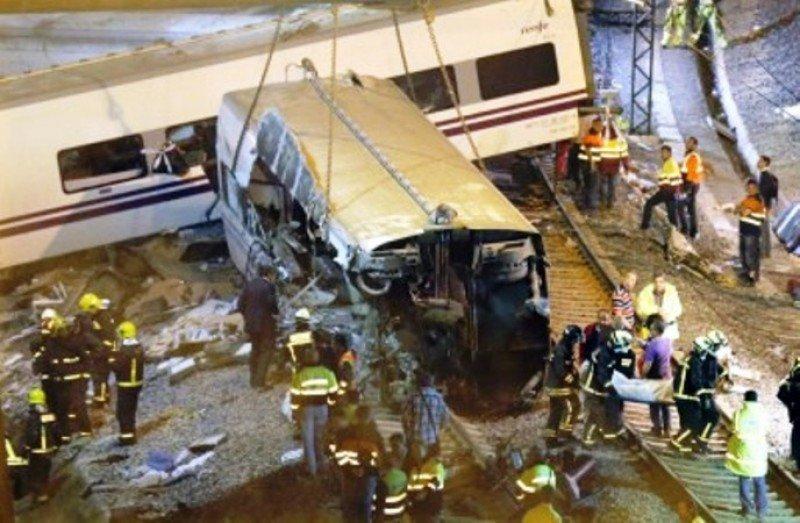 Los imputados de Adif por el accidente de tren de Santiago se niegan a declarar
