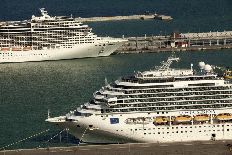 Barcelona es el primer puerto de cruceros del Mediterráneo.