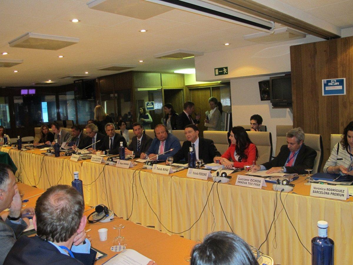 Presentación del informe sobre el turismo de compras en la OMT.