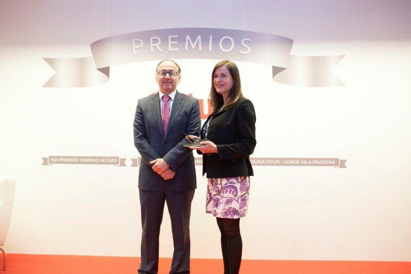 Iberia recibió el premio al Mejor Stand de Empresa de Fitur 2014.