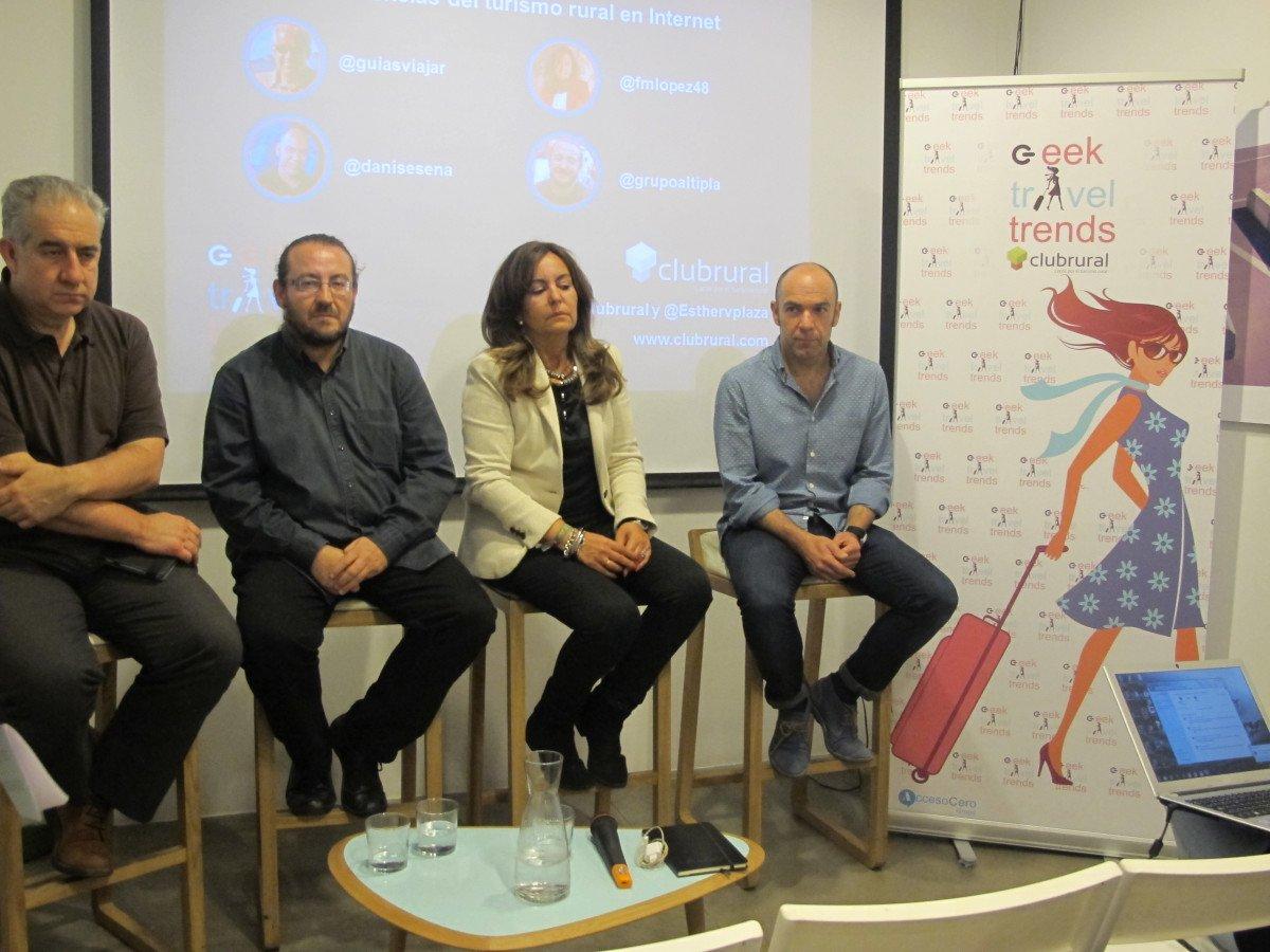 Los cuatro expertos que participaron en la reunión.