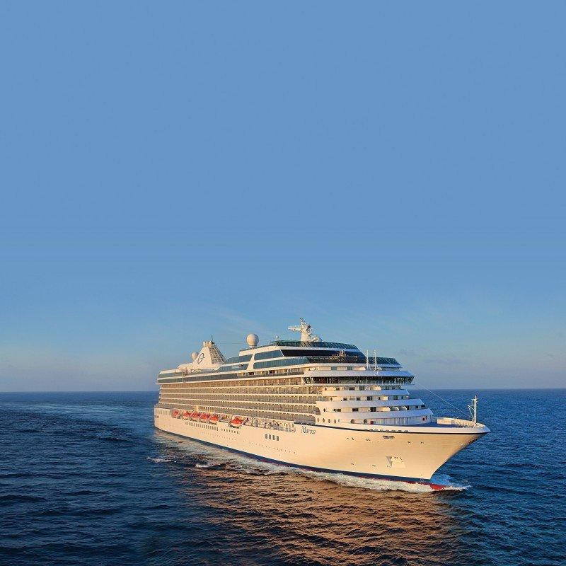 Oceania Cruises rompe moldes en cruceros de alta gama