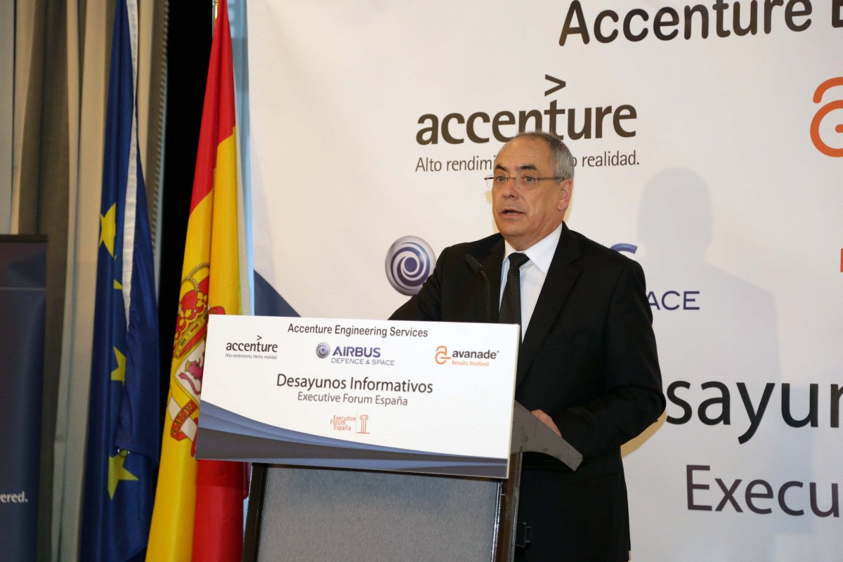 Domingo Ureña, presidente de Airbus en España.