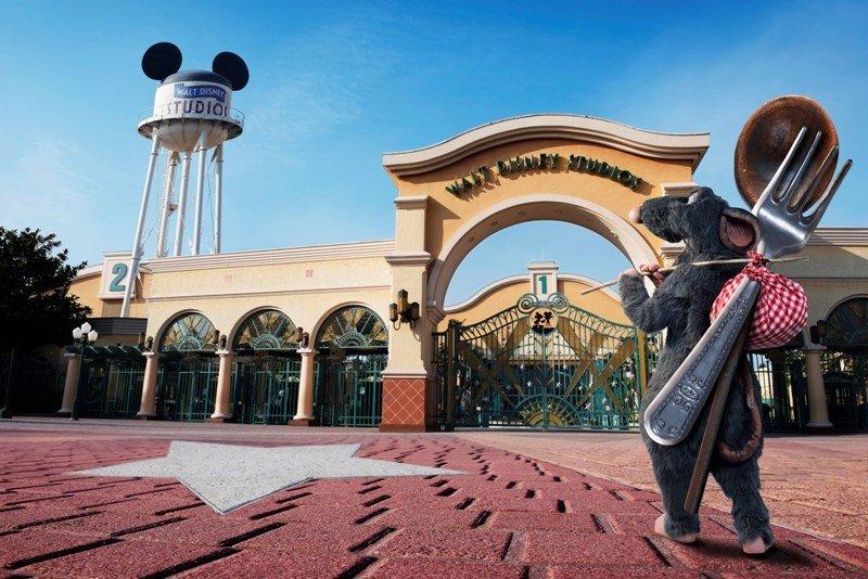 Imagen promocional de la nueva atracción de Disneyland Paris.