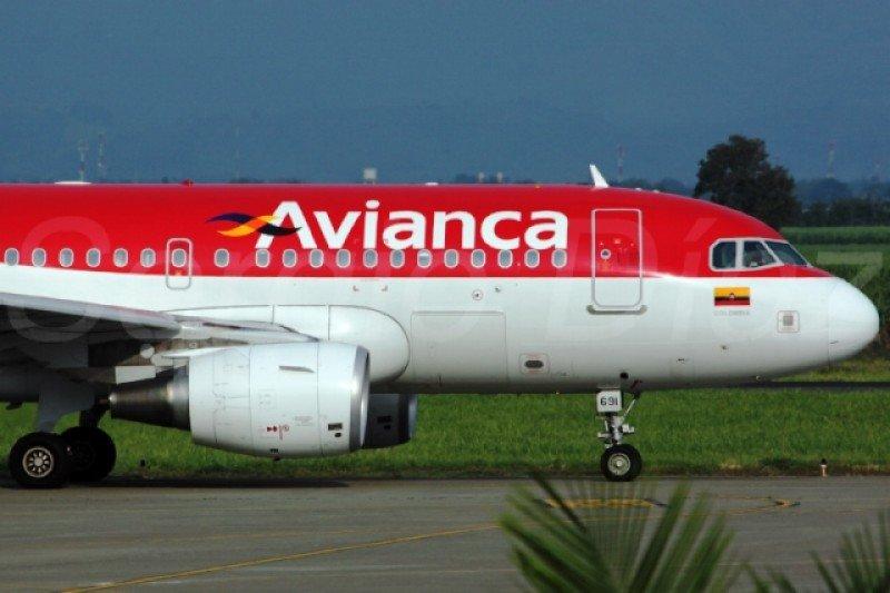 Airbus A319 de Avianca Colombia.