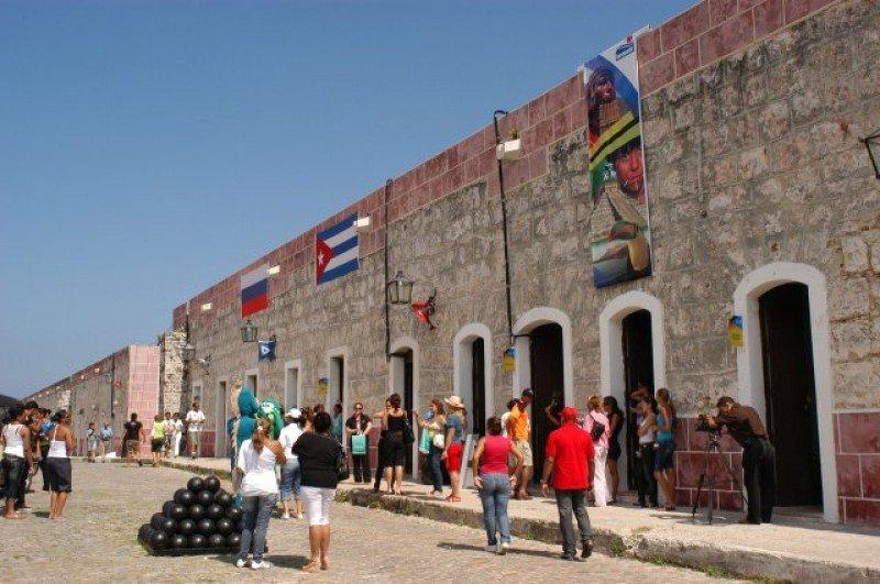 La fortaleza colonial de San Carlos de la Cabaña, sede del encuentro.